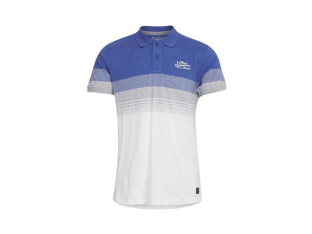 Pánské tričko Blend 20709816 74637 modrá