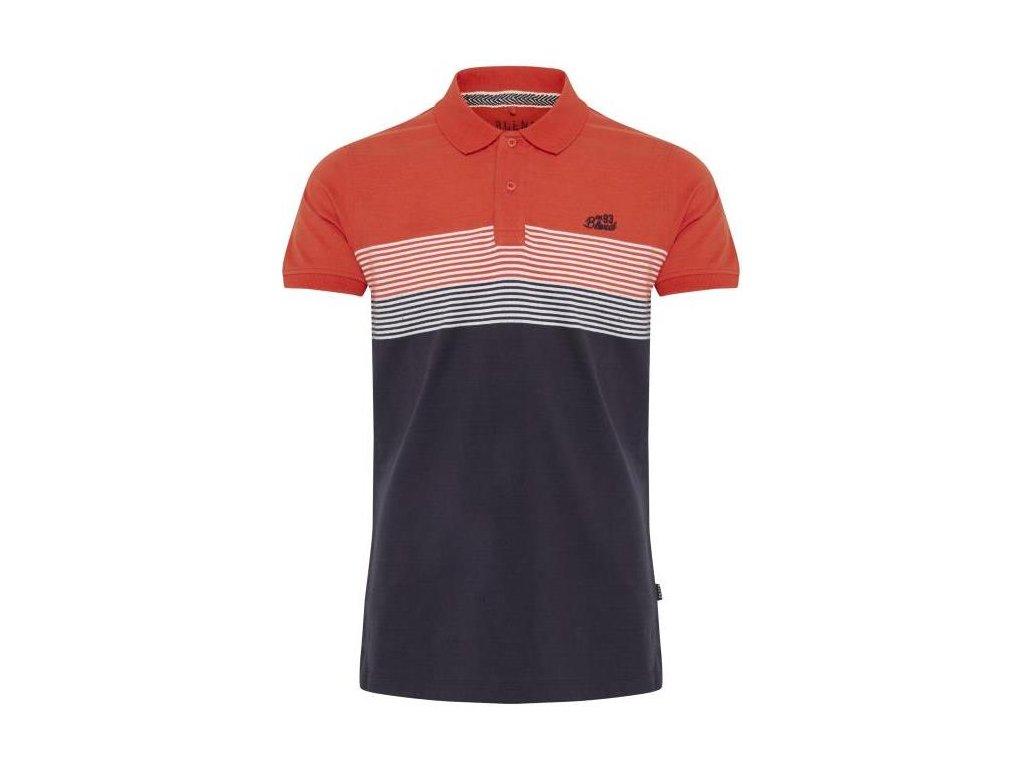Pánské tričko Blend 20710142 73013 červená SLIM FIT