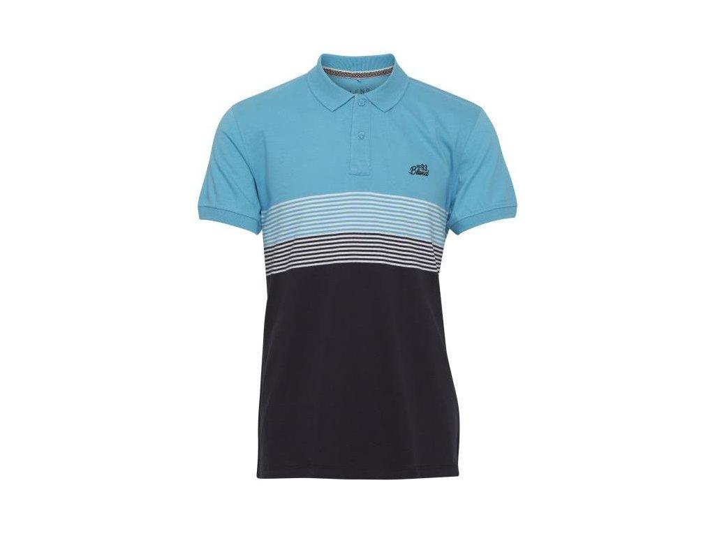 Pánské tričko Blend 20710891 74682 modrá REGULAR