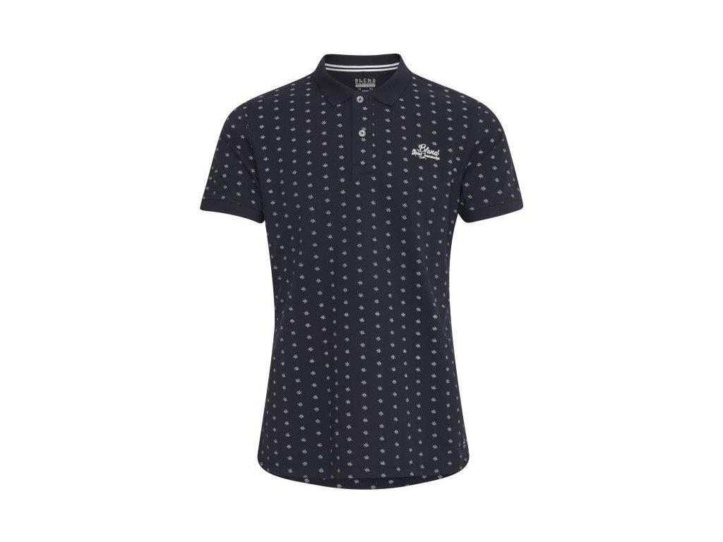 Pánské tričko Blend 20710577 74645 modrá