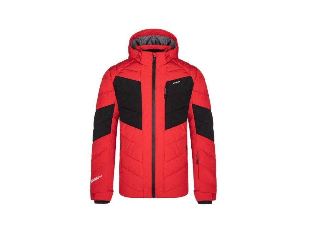 28505 12 loap olly panska lyzarska bunda cervena cerna olm2019g53v