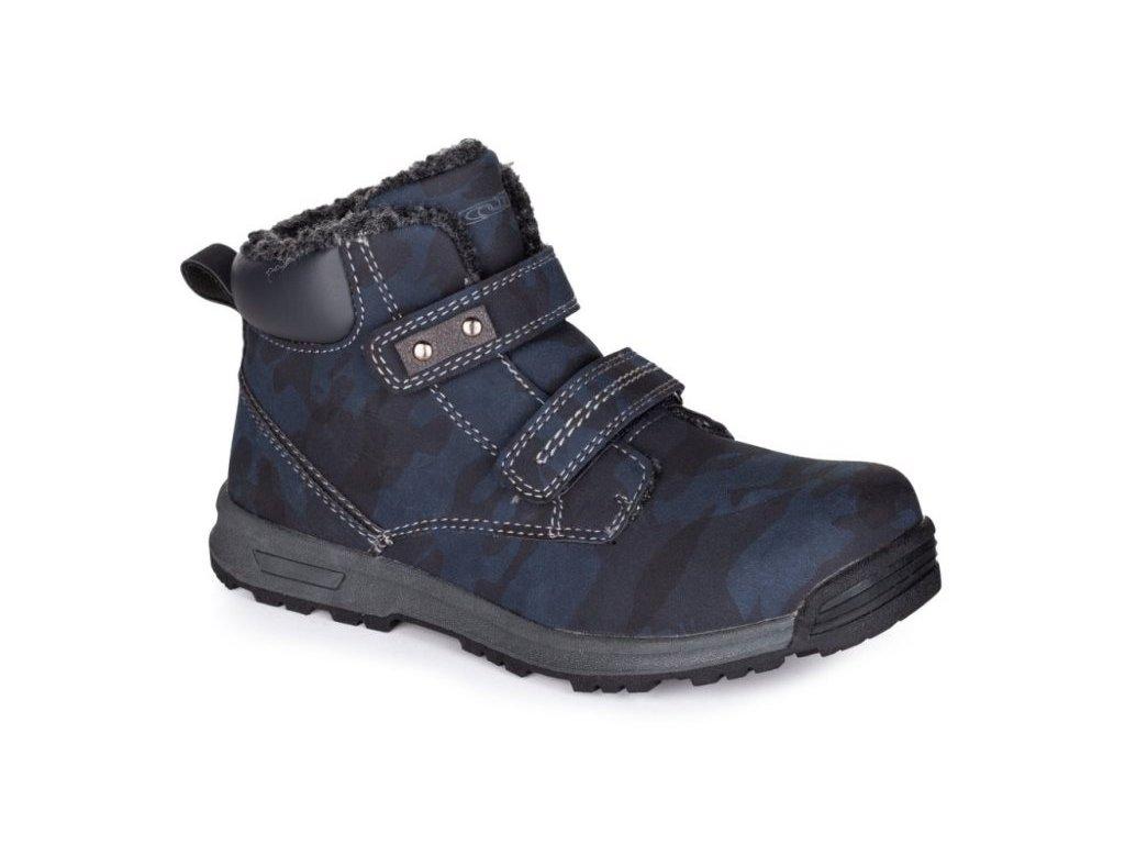 23553 3 loap vayan detske zimni boty modra seda kbj19101l36t