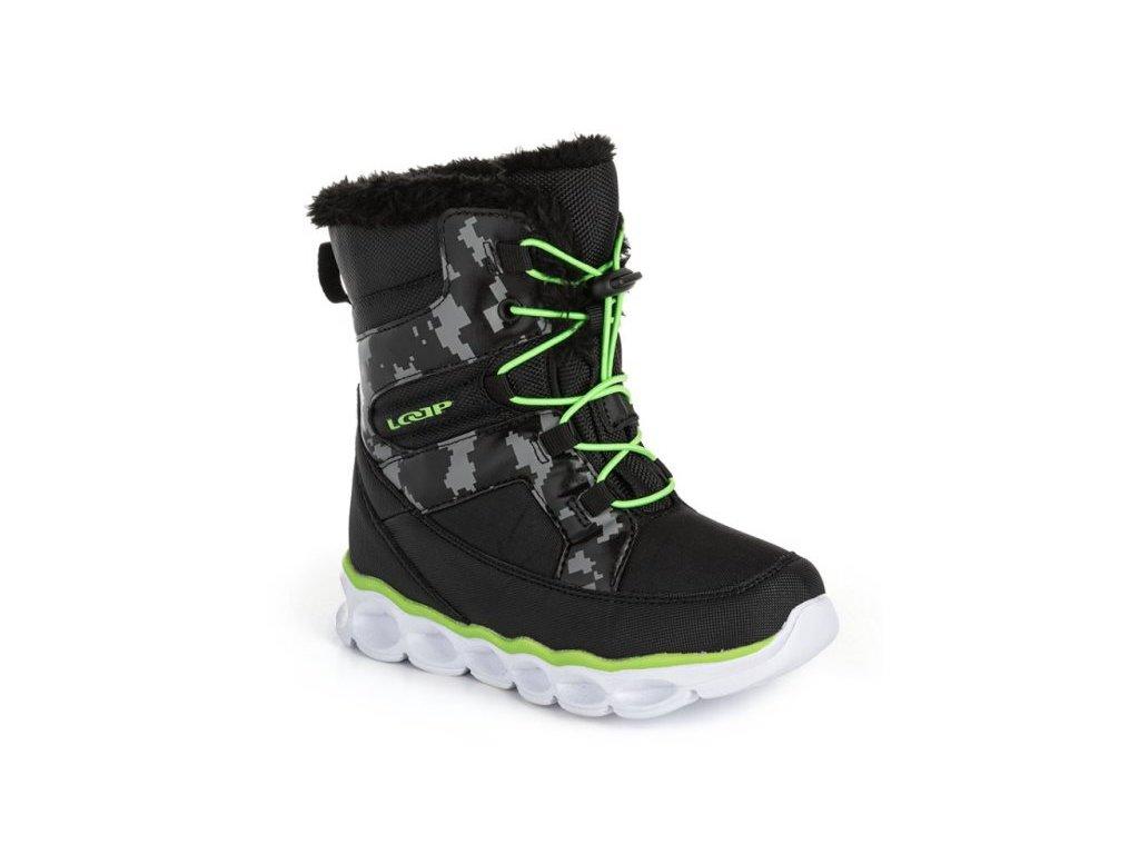 27830 loap enima detske snehule cerna zelena kbj20136v11n