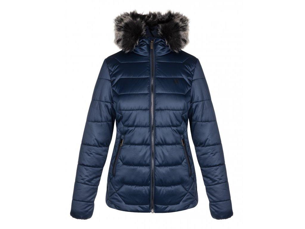 24801 loap tasia damska zimni bunda do mesta modra clw19104l13l