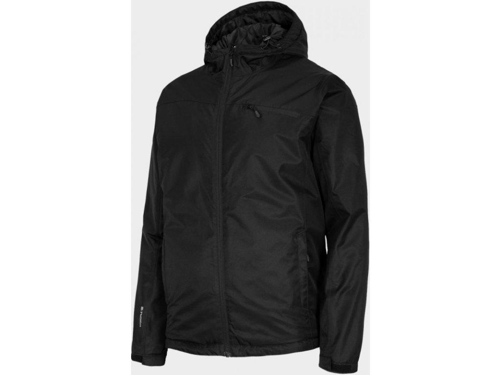 Pánská lyžařská bunda Outhorn KUMN600 Deep black černá