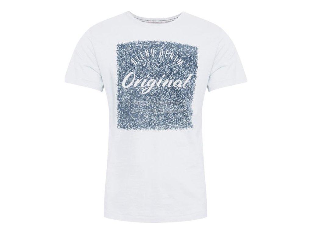 Pánské tričko Blednd 20711696 110601 bílá