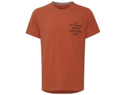 Pánské tričko Blend 20712447 181448 hnědá