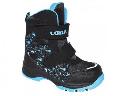20973 loap chosee detske zimni boty cerna kbk1644v20l