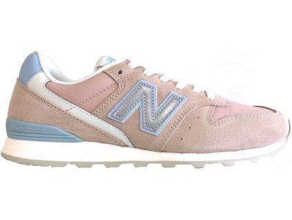 Dámská lifestylová obuv New Balance WL996 AD růžová