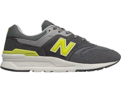 Pánská lifestylová obuv New Balance CM997 HDJ šedá