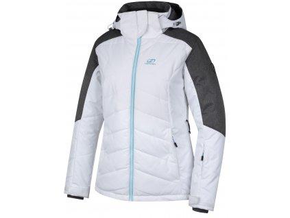 Dámská  lyžařská bunda Hannah NANETT bright white/gray mel. bílá