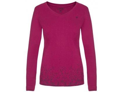 Dámské triko Loap ANABEL H20H růžová