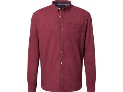 Pánská košile Pioneer 4206 809 červená