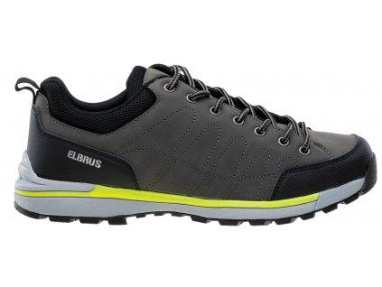 Pánské boty ELBRUS WALTONI Grey/Yell šedá