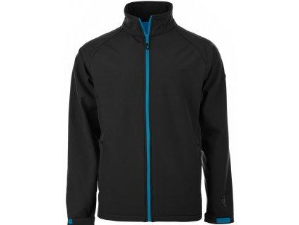 Pánská softshellová bunda Martes NANTES Black černá
