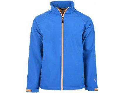 Pánská softshellová bunda Martes NANTES Ocean blue Modrá
