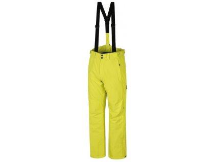 Pánské lyžařské kalhoty Hannah CLARK Sulp spring žlutá