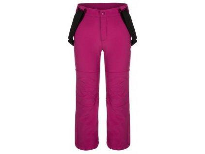 Dětské kalhoty Loap LONNY H20H růžová