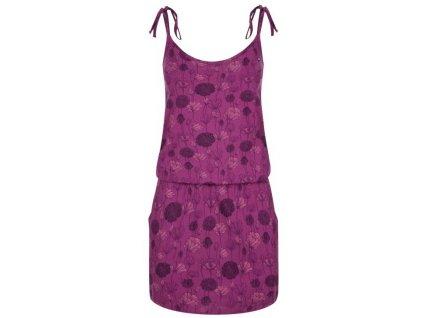 Dámské šaty Loap BAJA J45KY fialová