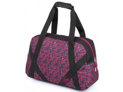 Sportovní taška Loap ARTEMIA J48V růžová