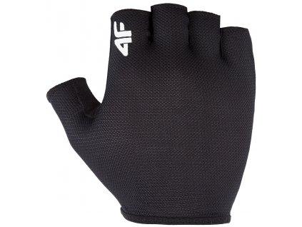 Cyklistické rukavice 4F RRU001 20S černá
