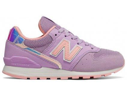 Dětská lifestylová obuv New Balance YC996 M1 fialová