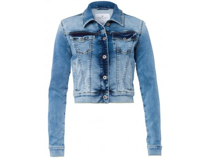Dámská jeans bunda Cross B607 Denim Jacket 005 modrá