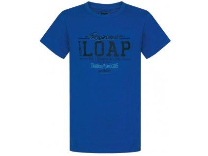 Dětské tričko Loap ADRIX M03M modrá