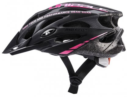 Cyklistická helma Meteor 24717 Black/pink