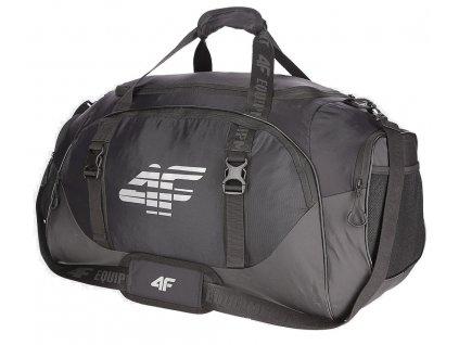 Sportovní taška 4F TPU007 Deep black černá