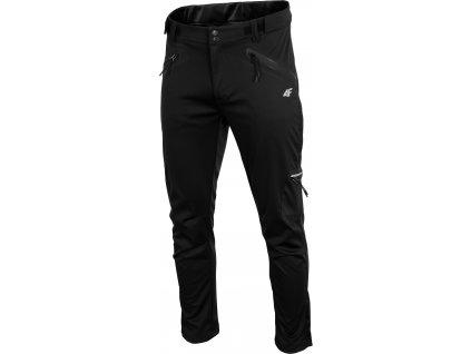 Pánské kalhoty 4F SPMT001 Deep black černá