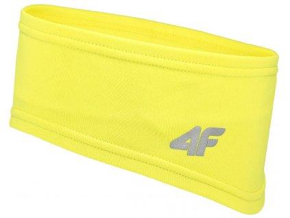 Čelenka 4F CAU061 Canary green žlutá