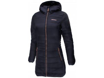 Dámský zimní kabát ERCO KAIRA NEW BLK černá