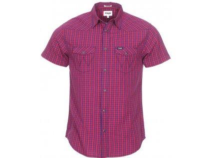 Pánská košile Wrangler W5A244 M1P červená