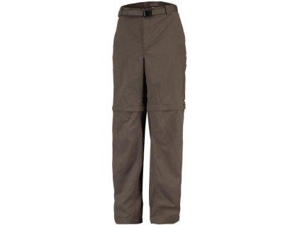 Pánské kalhoty Columbia 2v1 Silver Ridge ™ Convertible Pant - nadměrné velikosti Major hnědá