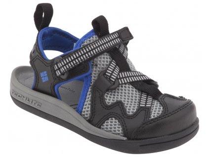 Dětské sandály Columbia CHILDREN'S WATU ™ 3 Black, Nautical Blue černá