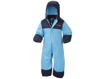 Dětská zimní kombinéza Columbia 3v1 Bugababy ™ Interchange Bunting Riptide modrá