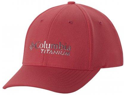 Univerzální kšiltovka Columbia TITANIUM™ BALL CAP 673 - bright geranium růžová