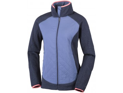Dámská bunda Columbia Altitude Aspect ™ Hybrid Fleece 591 Nocturnal fialová