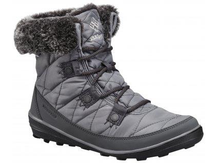 Dámské zimní boty Columbia HEAVENLY ™ SHORTY OMNI-HEAT ™ 052 Quarry, Dove šedá