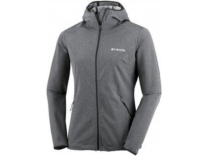 Dámská softshellová bunda Columbia Heather Canyon ™ softshell Jacket 010 šedá