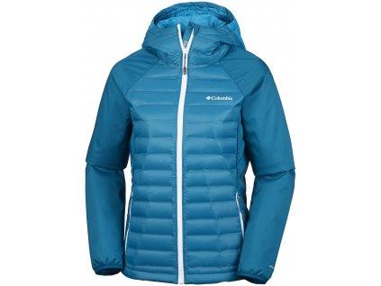 Dámská bunda Columbia Mountain Hike™ Hybrid Jacket 498 modrá