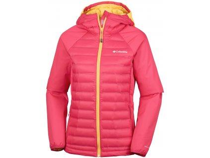 Dámská bunda Columbia Mountain Hike™ Hybrid Jacket 653 červená