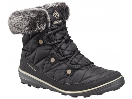 Dámské zimní boty Columbia HEAVENLY ™ SHORTY OMNI-HEAT ™ 010 Black černá