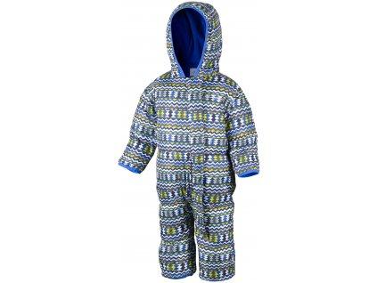 Dětská zimní kombinéza Columbia Snuggly Bunny Bunting 019 modrá