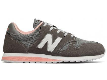Dámská lifestylová obuv New Balance WL520 TLB šedá