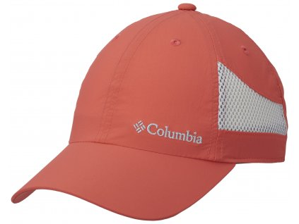 Kšiltovka Columbia TECH SHADE™ HAT 633 oranžová