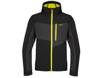 Pánská softshellová bunda Loap LYDER V24C černá