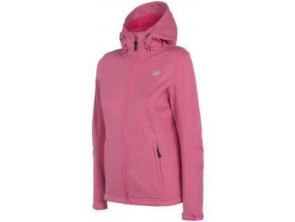 Dámská bunda 4F SFD001 Pink mel. růžová