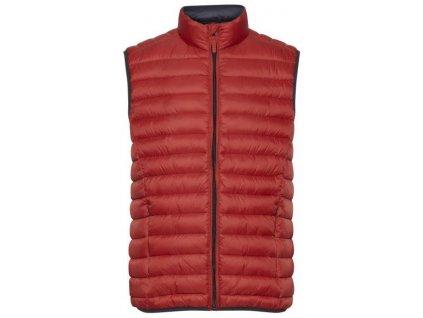Pánská vesta Blend 20710703 191557 červená
